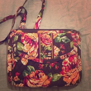 Vera Bradley English Rose Satchel